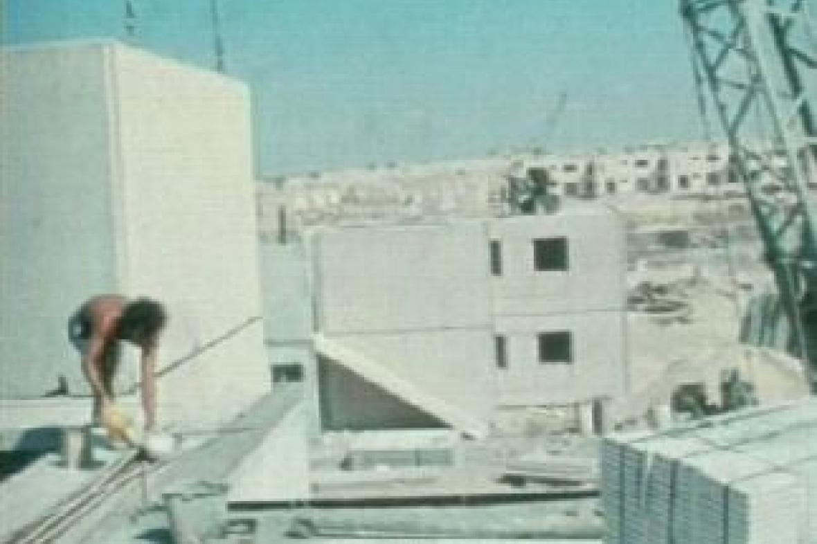 Výstavba židovských osad v pásmu Gazy