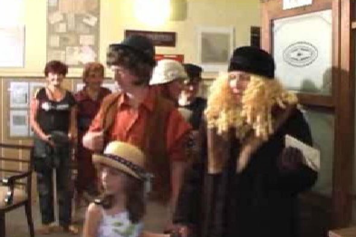 Vernisáž poštovní výstavy v Javorníku