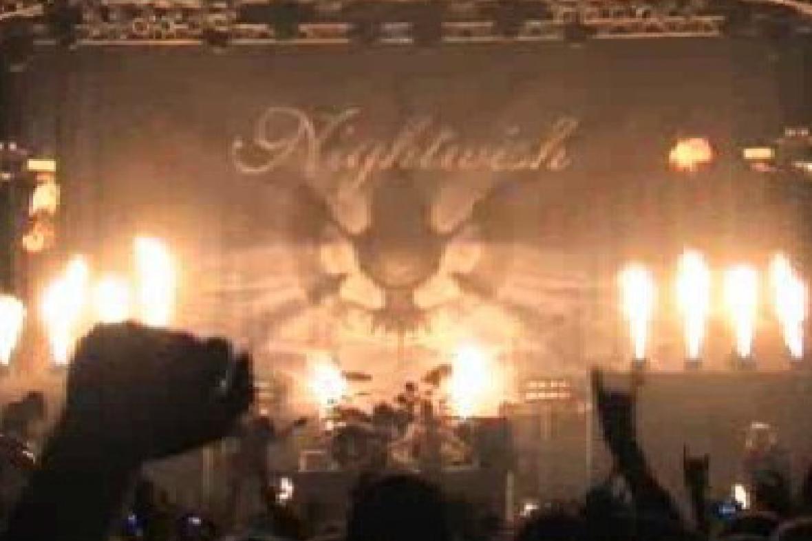 Vystoupení kapaly Nightwish