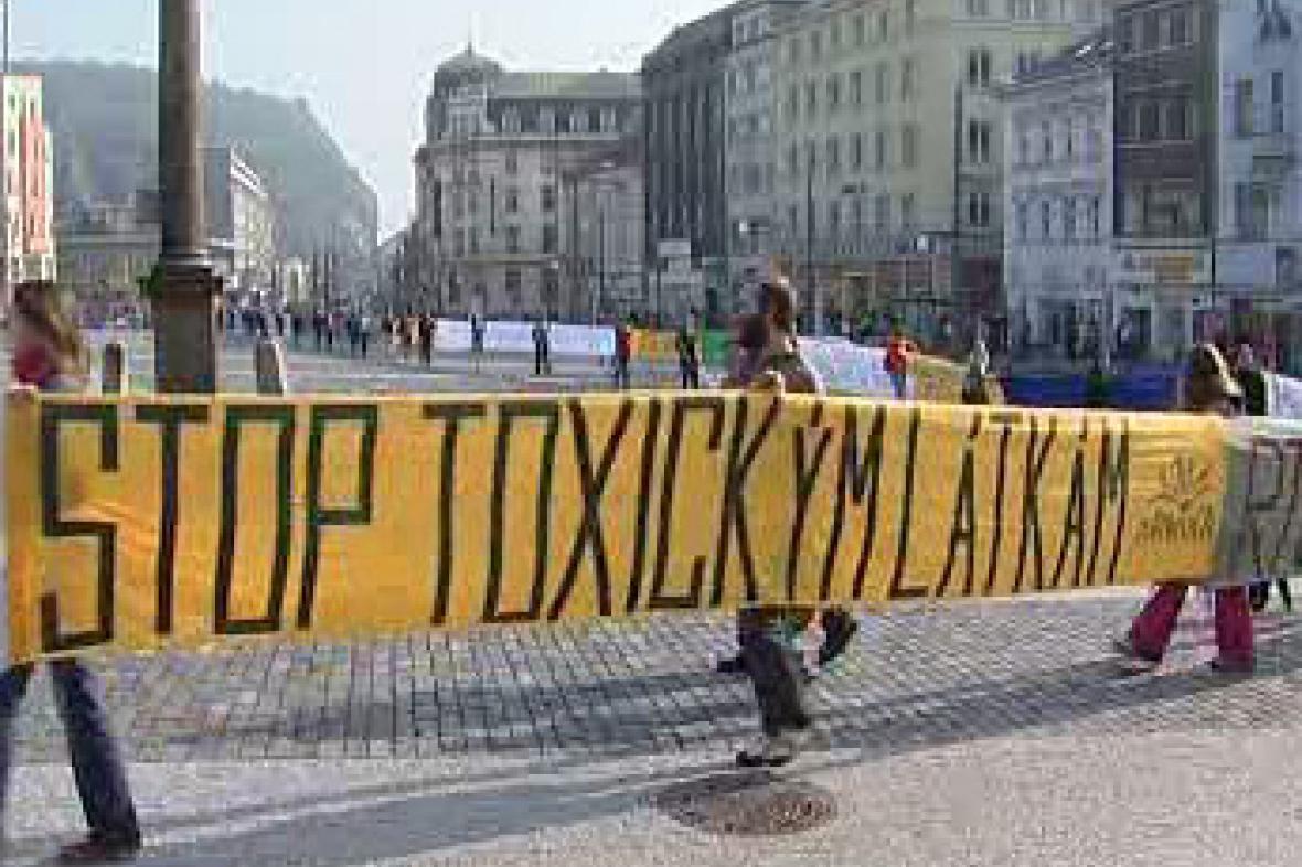 Protest proti chemikáliím