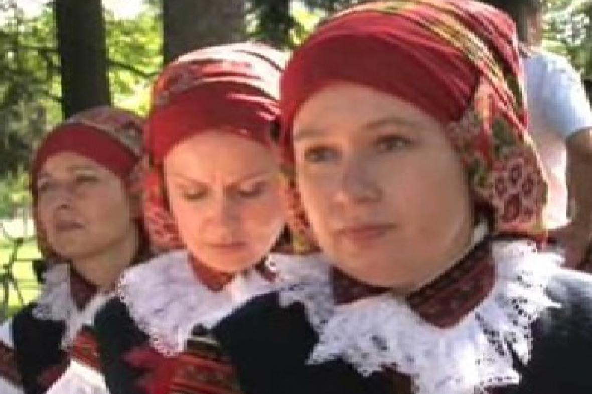 Účastníce lázeňského zpívání