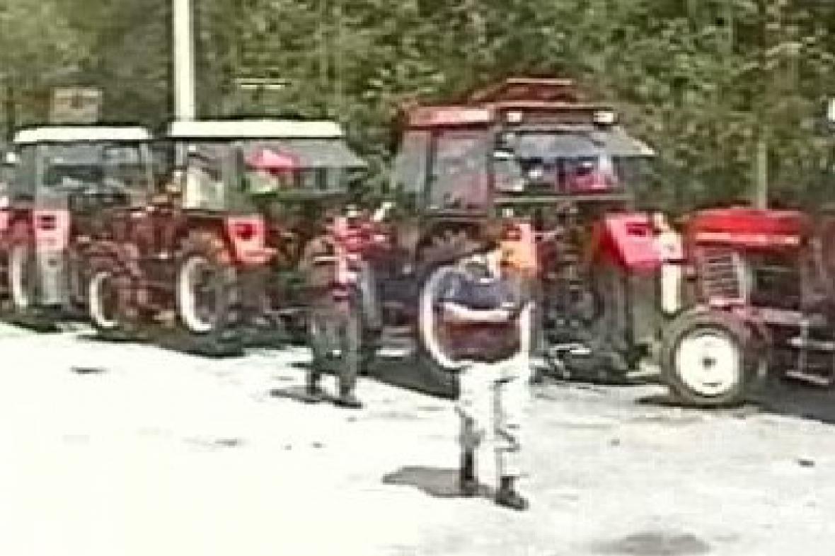 Sraz majitelů traktorů Zetor