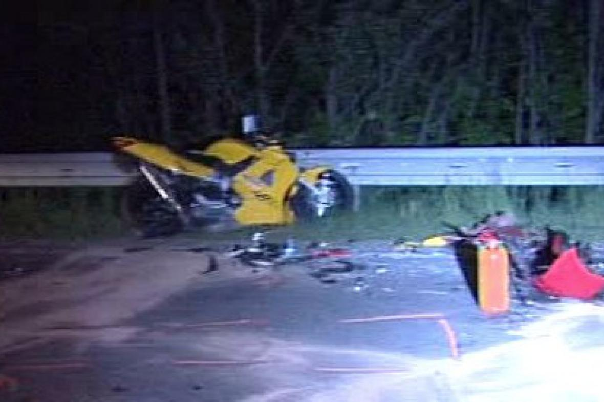 Havárie motocyklu