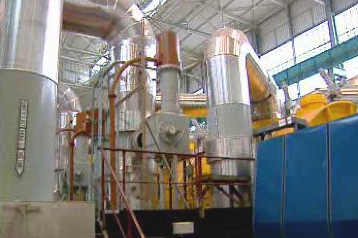 Vnitřní zařízení jaderné elekrárny