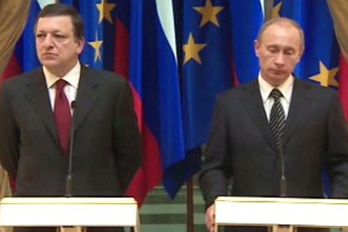 José Barroso a Vladimir Putin