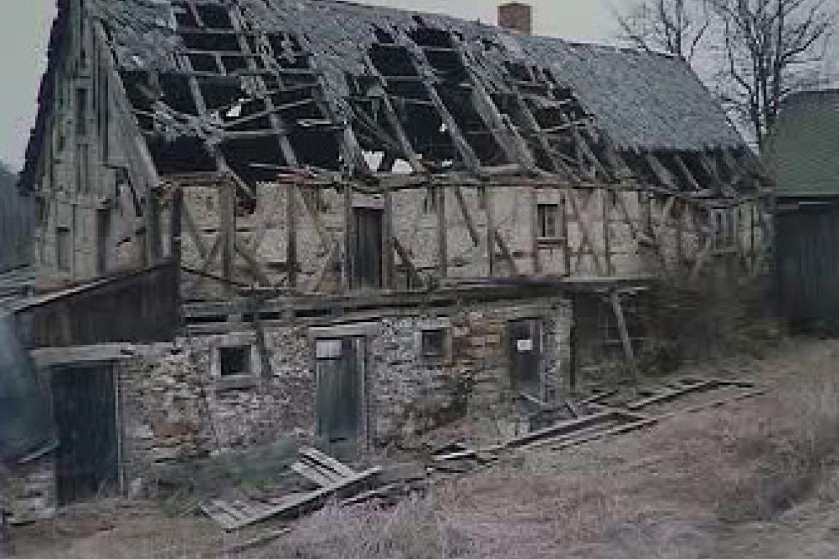 Torzo historického domu