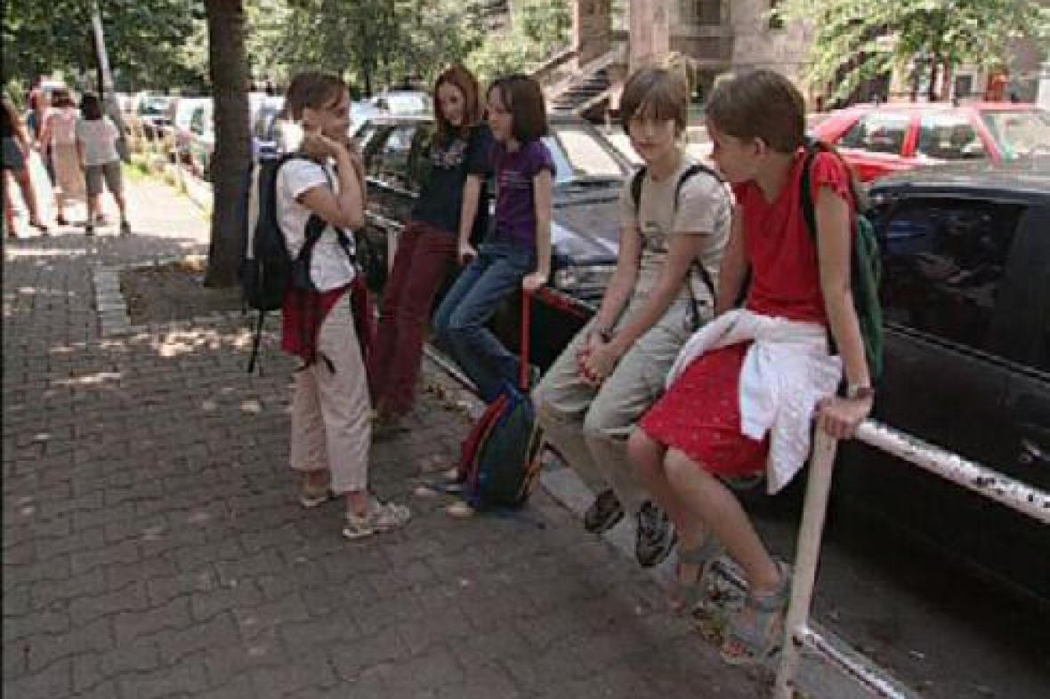 Děti před školou