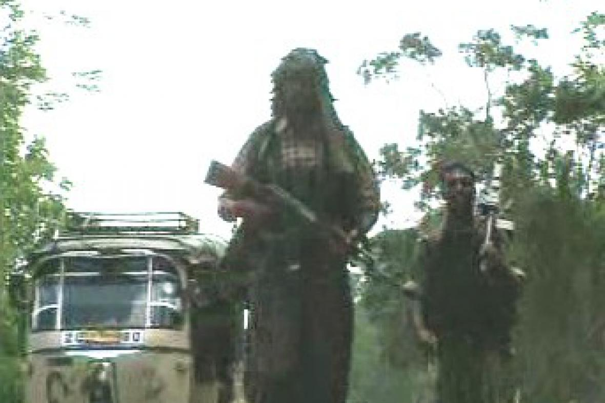 Srílanští povstalci