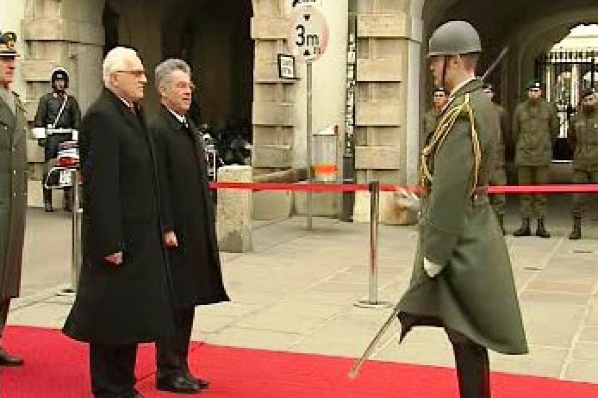 Václav Klaus a Heinz Fischer