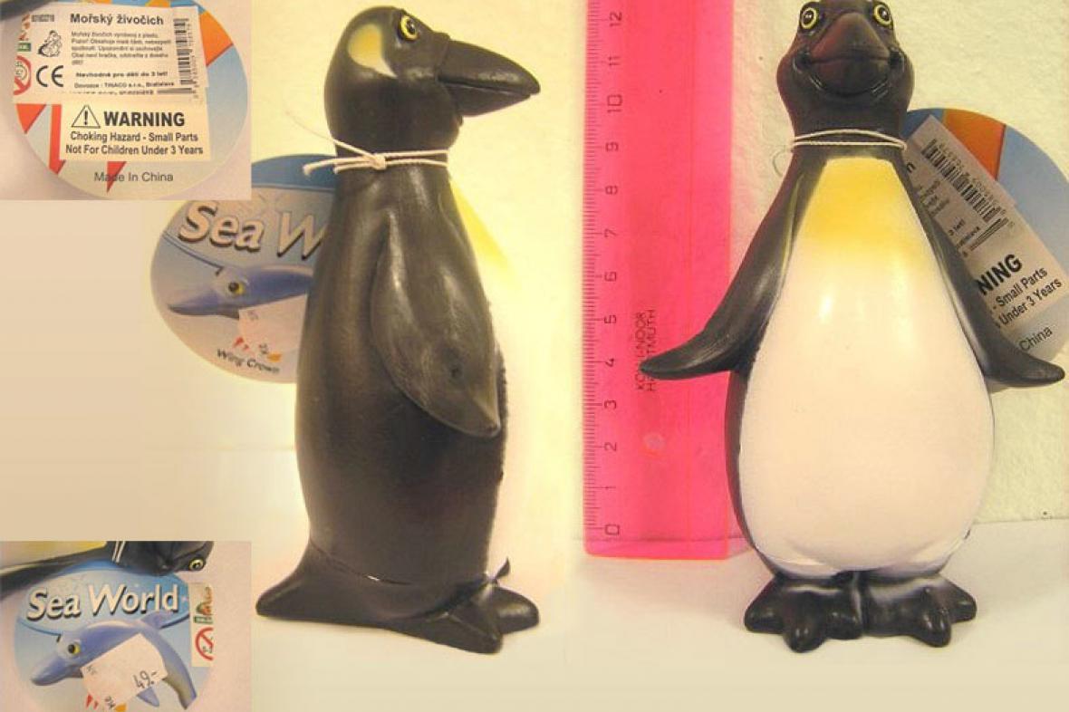 Nebezpečný tučňák