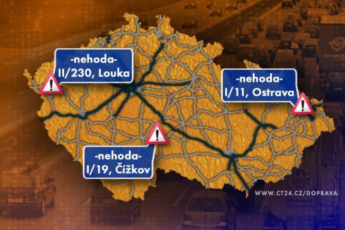 Dopravní situace ve středu 13. 5. 2009