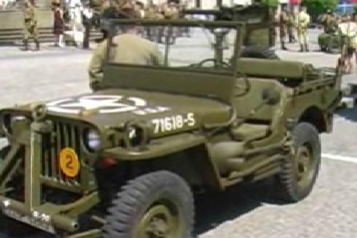 Americký džíp z II. světové války