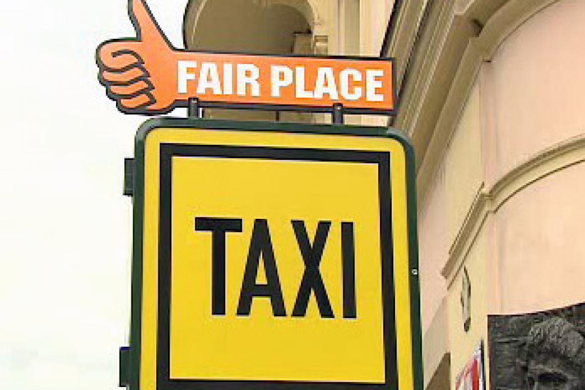 Nové označení stanovišť taxi