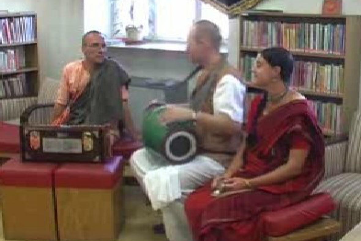 Členové hnutí Hare Krišna