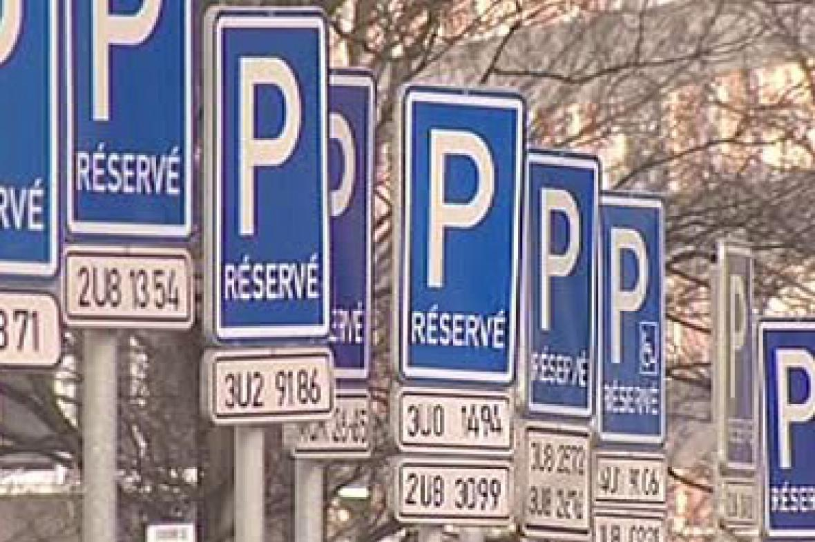 Parkovací cedule