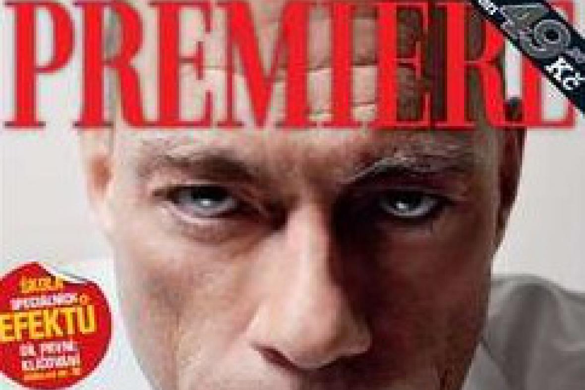 Obálka časopisu Premiere