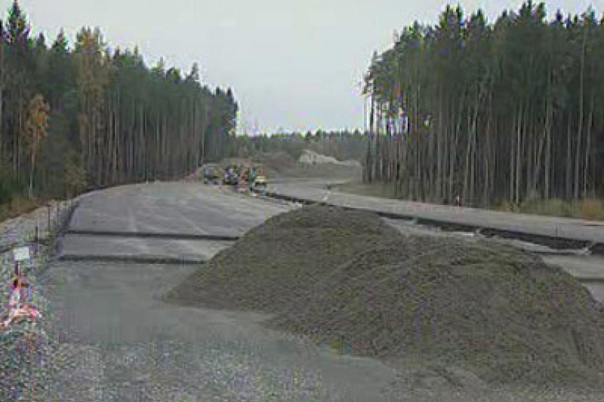 Výstavba dálnice