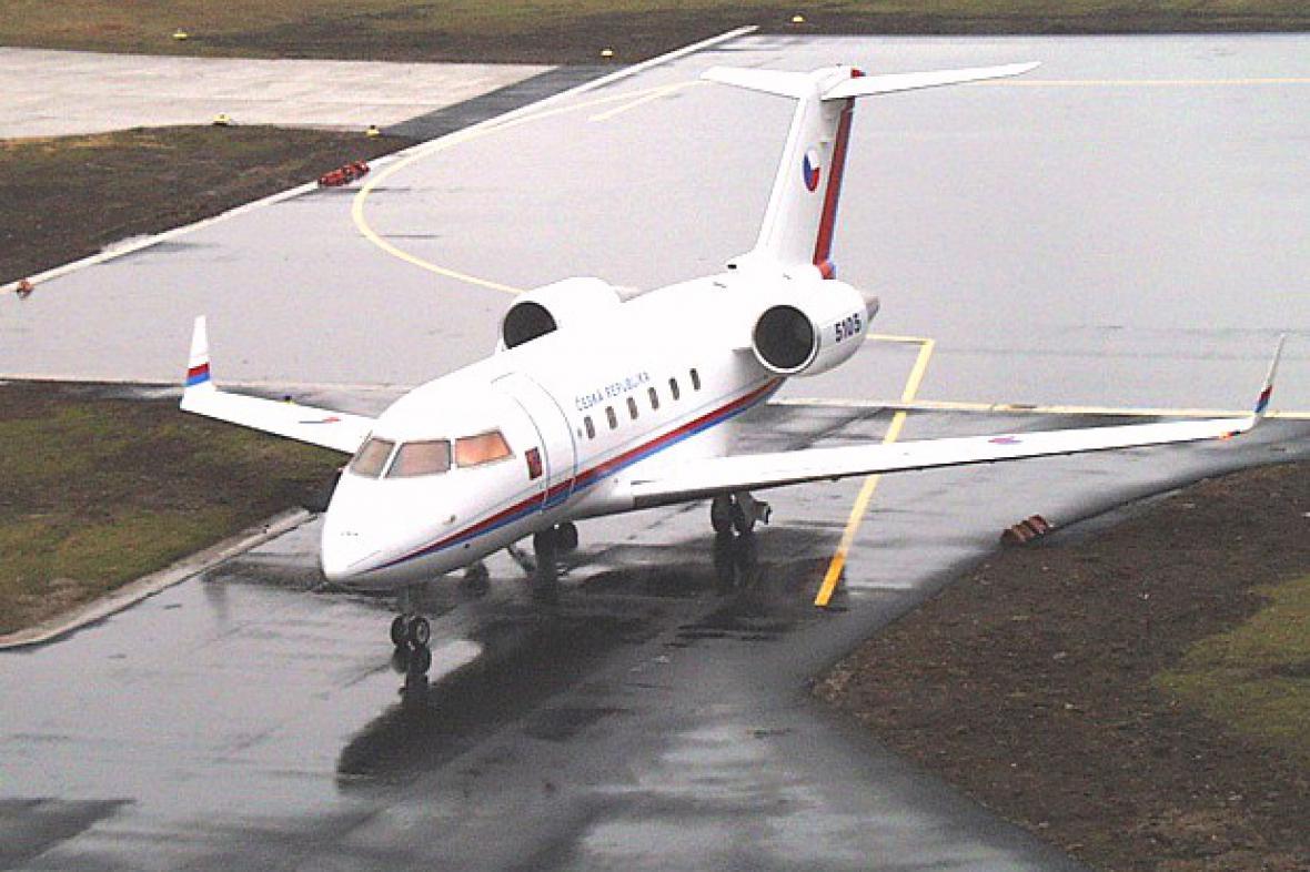 Vládní letoun Challenger