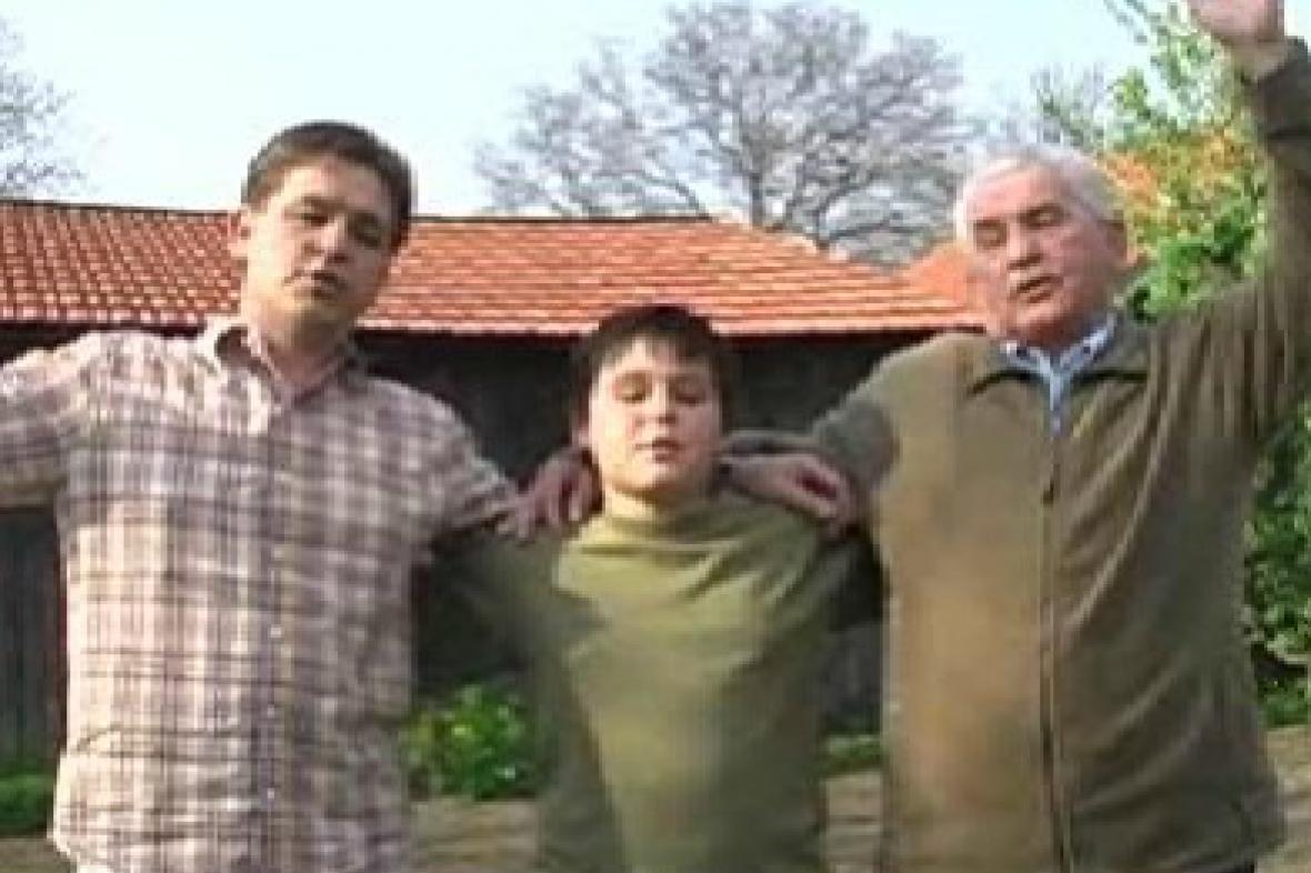 Tři generace horňáckých zpěváků