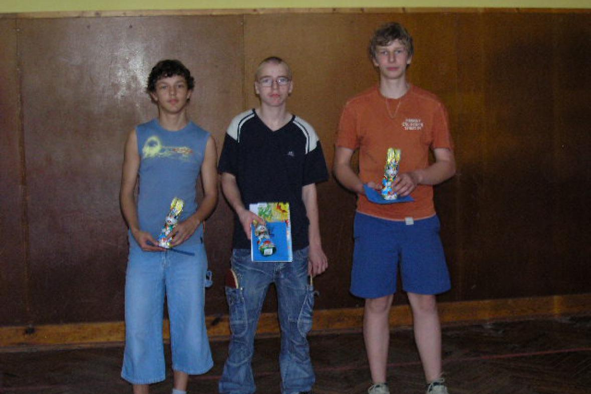 Nejlepší stolní tenisté na turnaji v Šumné