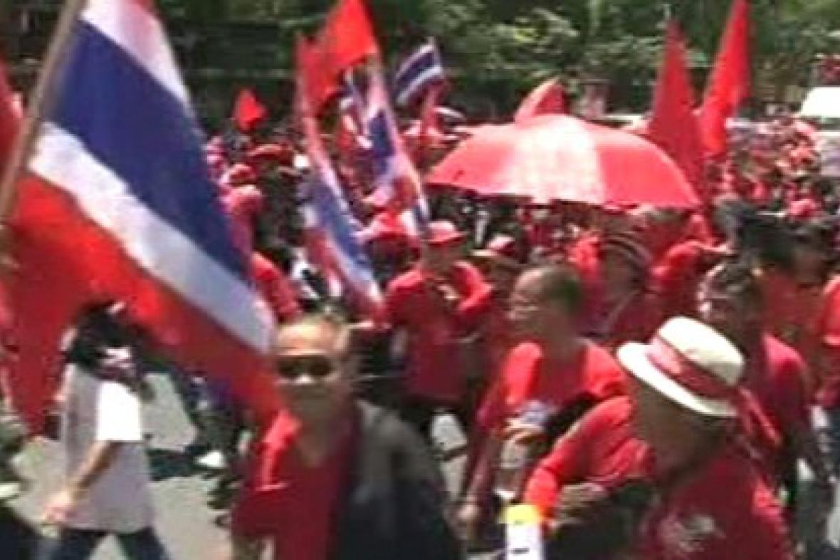 Protesty v Thajsku