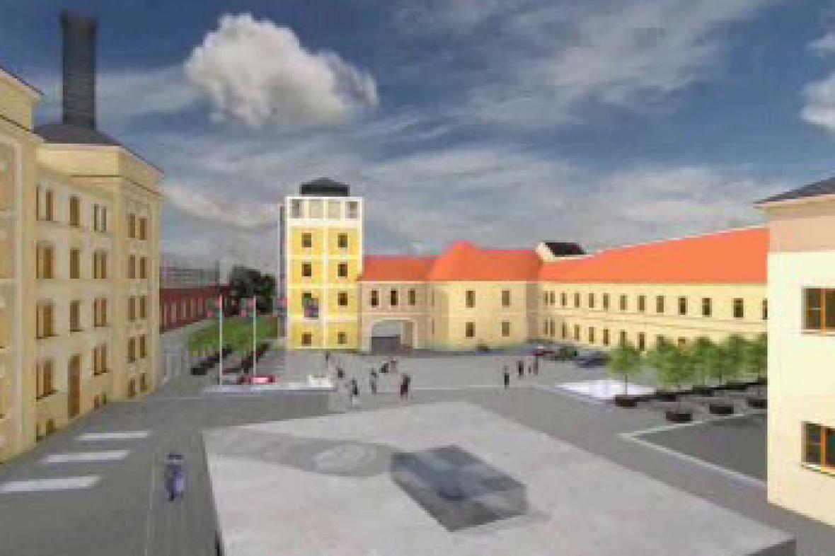Budoucí sídlo Královéhradeckého kraje