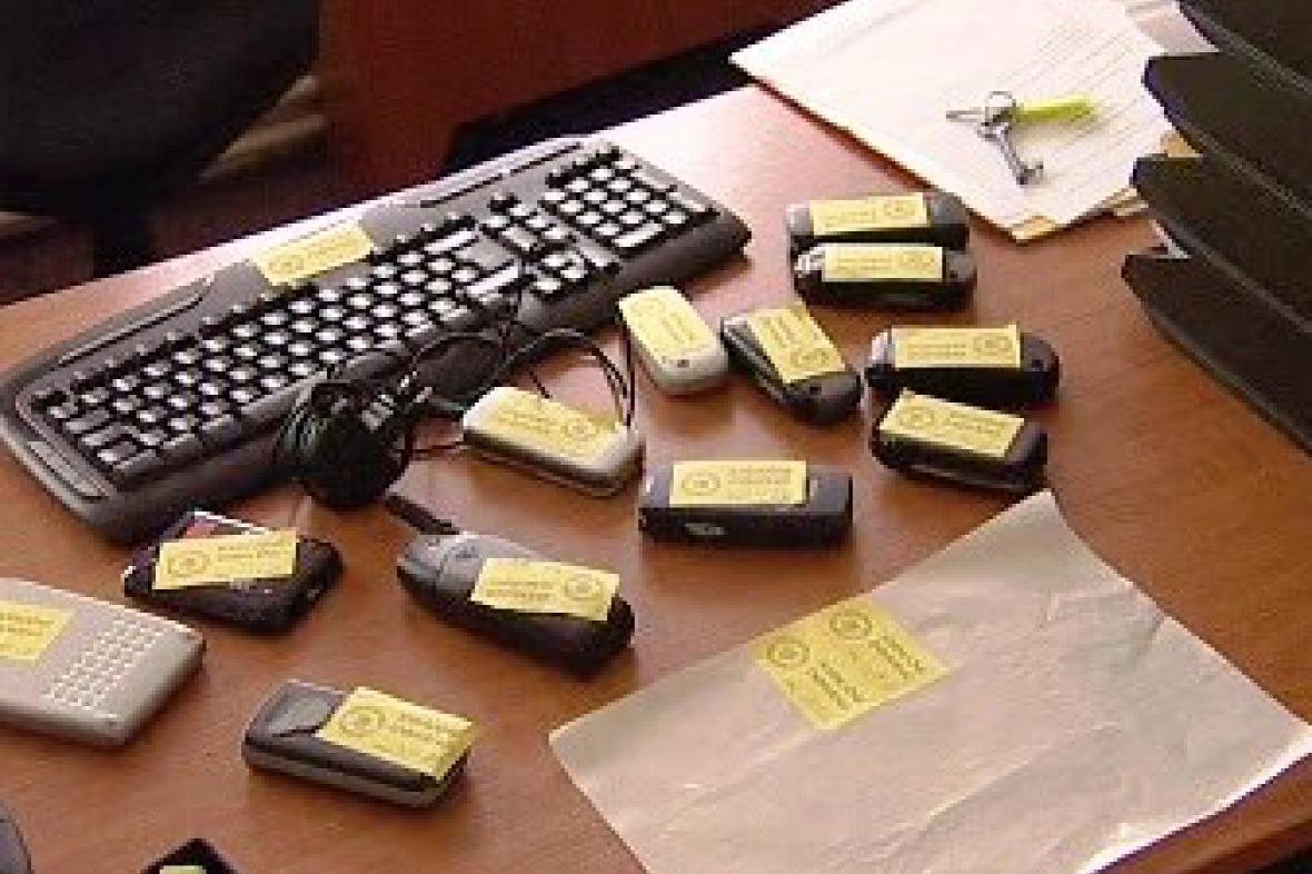 K exekuci označené vybavení kanceláře
