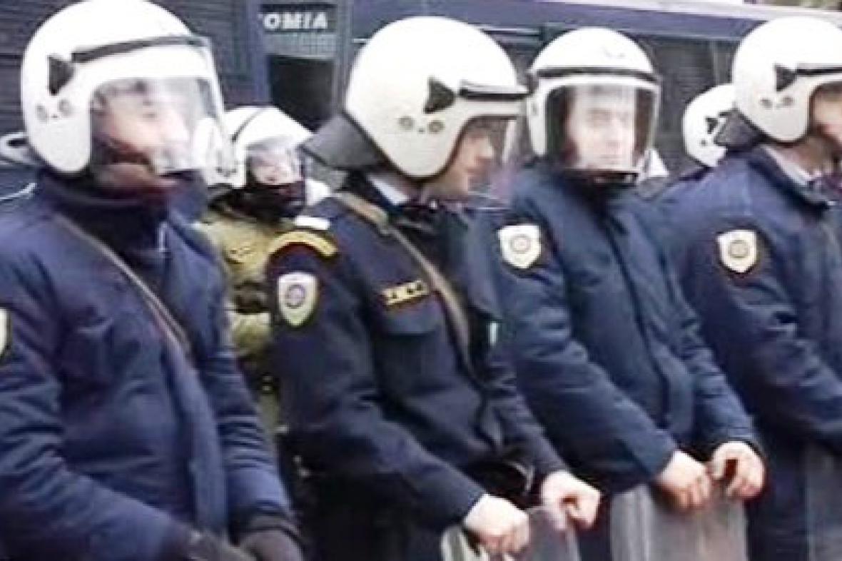 Řečtí policisté