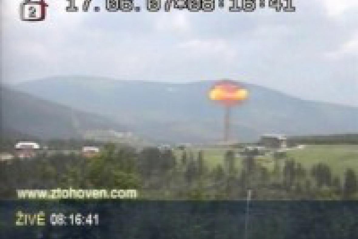 Ztohoven: Jaderný výbuch nad ČR