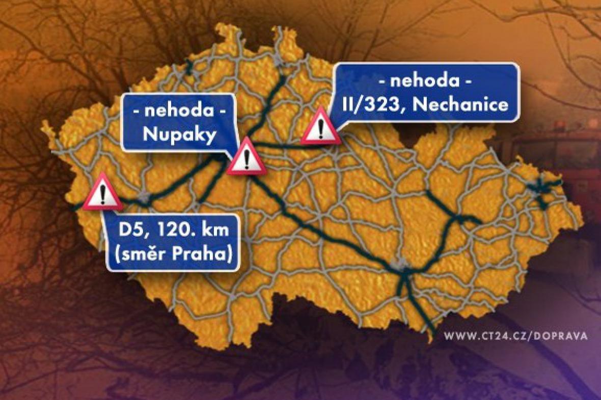 Dopravní situace v pátek 27. 3. 2009