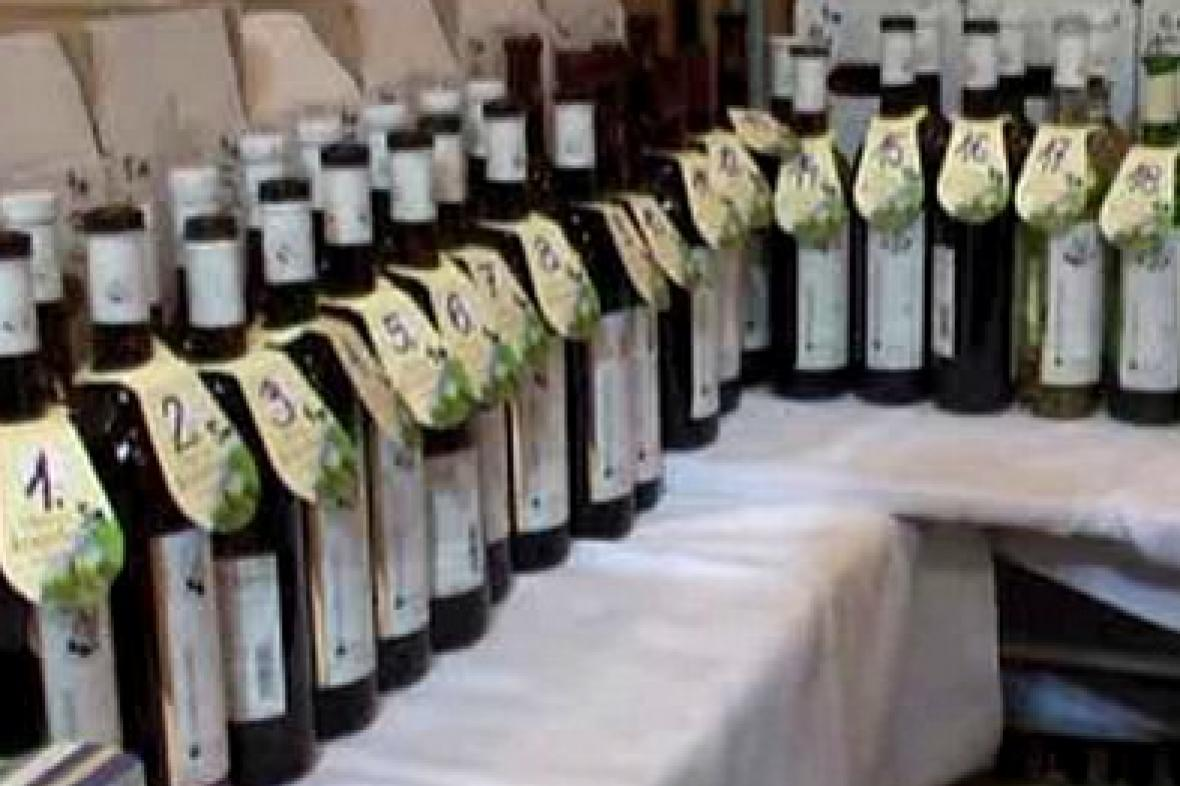 Vzorky vína