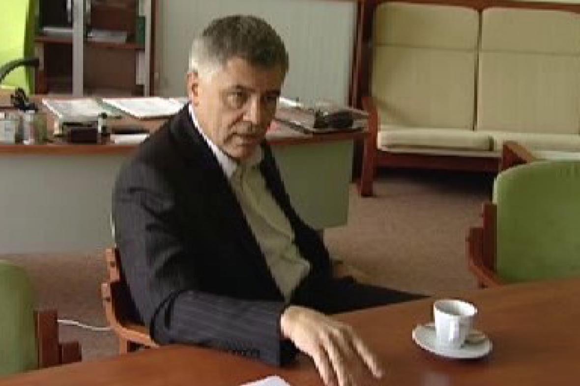 Rektor Miroslav Krejča