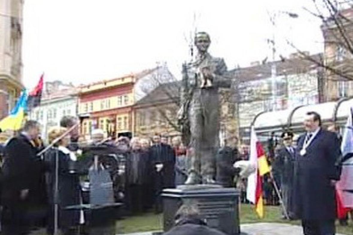Socha Tarase Ševčenka