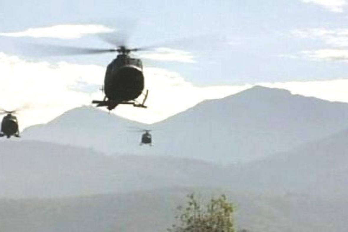 Vrtulníky KFOR