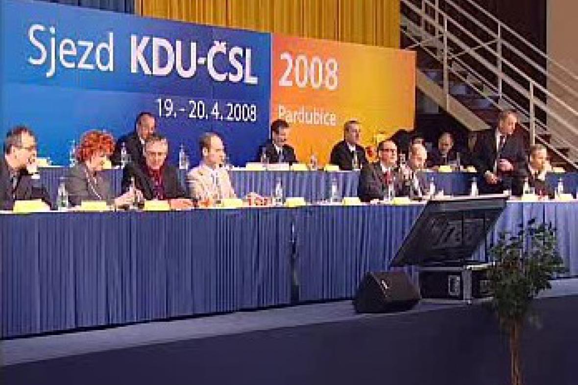 Sjezd KDU-ČSL