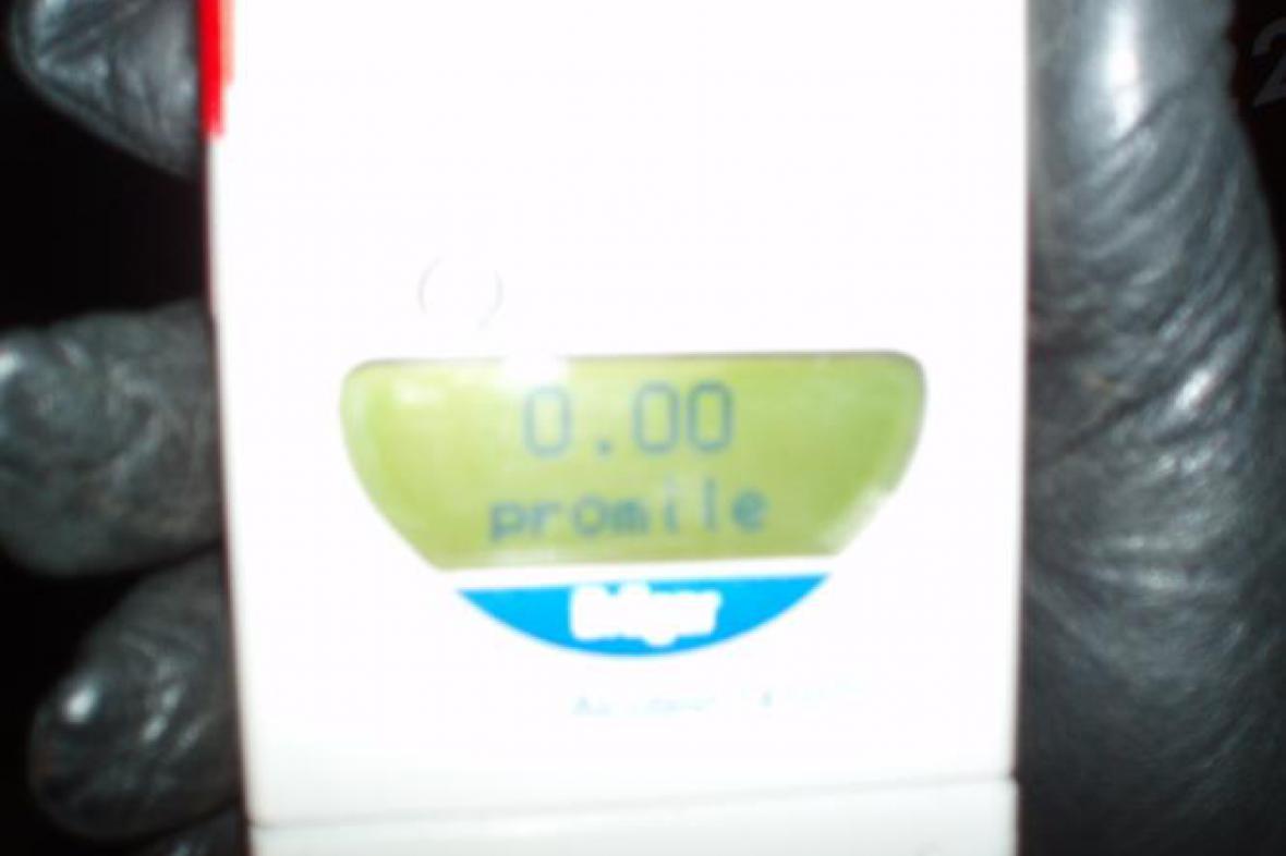 Digitální alkoholtester
