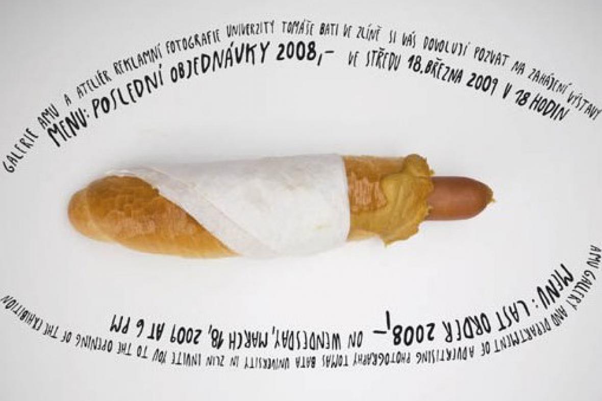Menu: Poslední objednávky 2008