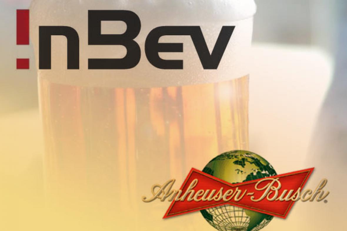 Spojení pivovarů InBev a Anheuser-Bush