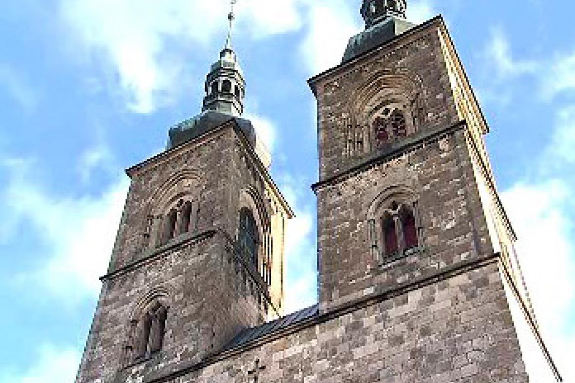 Kostel premonstrátského kláštera v Teplé