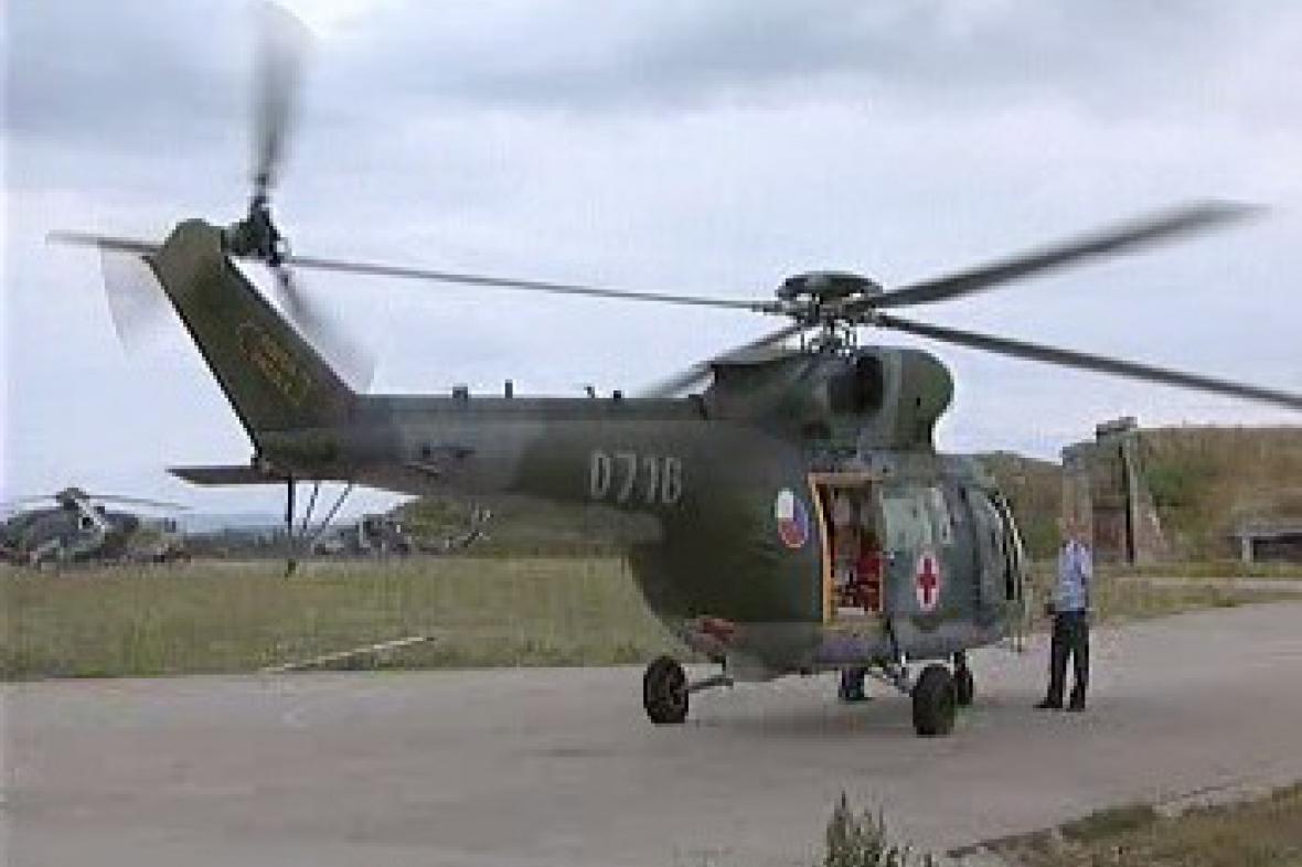 Vrtulník armádní letecké záchranné služby