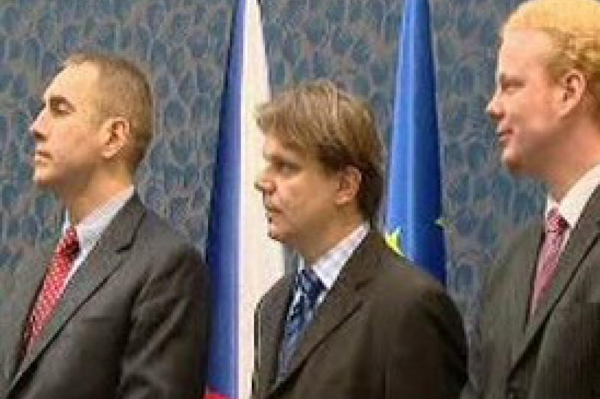Martin Jahn, Pavel Kohout a Tomáš Sedláček