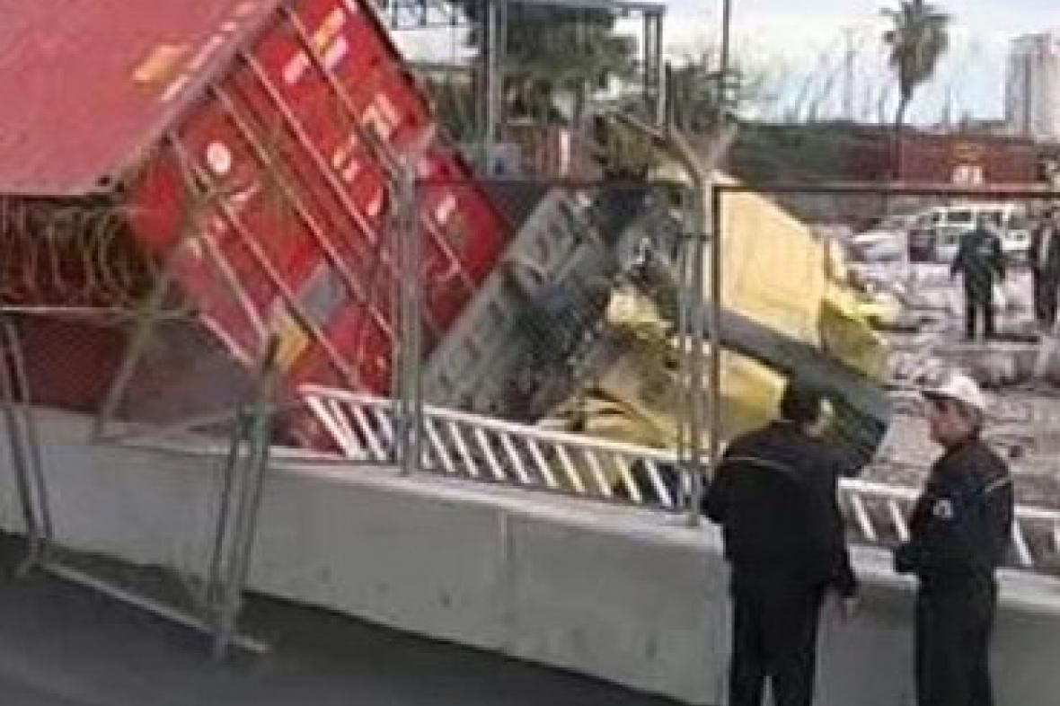 Nehoda v tureckém Mersinu