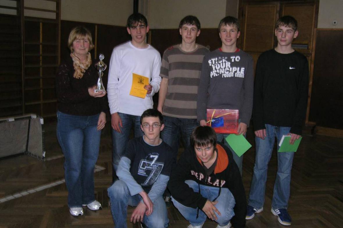 Mladí florbalisté z Blížkovic
