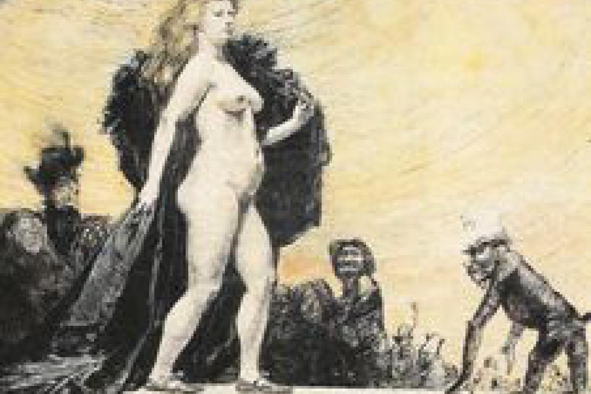Z výstavy Tělo a tělesnost