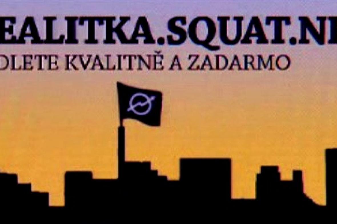 Web pražských squatterů