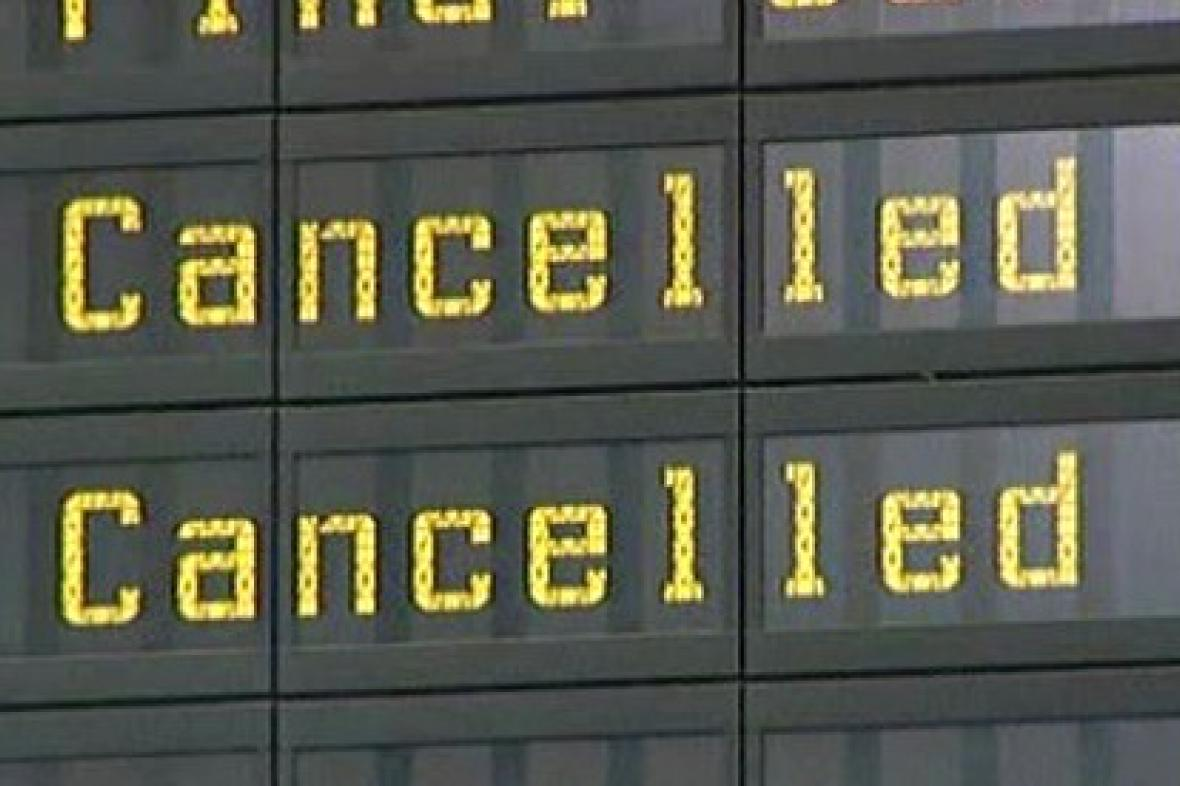 Zrušené lety
