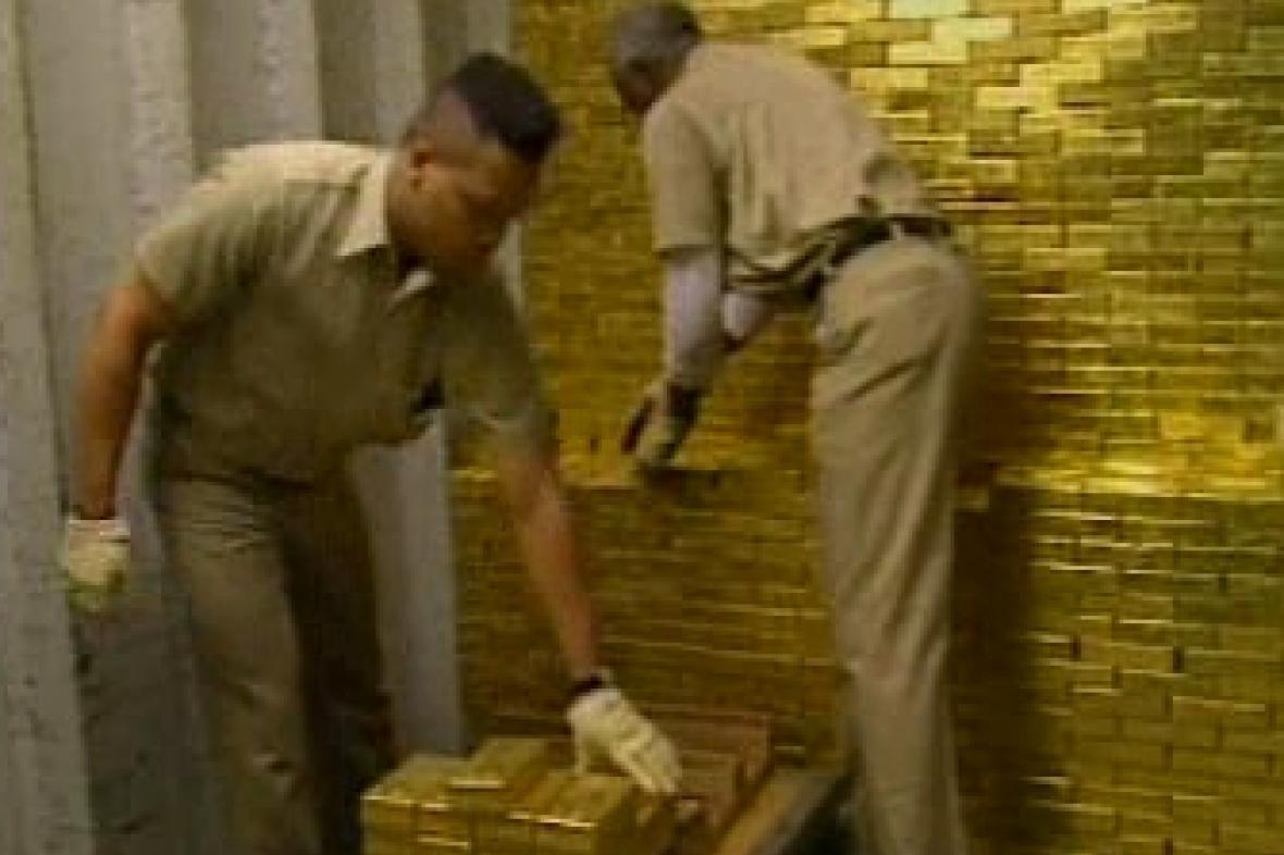 Zásoby zlata