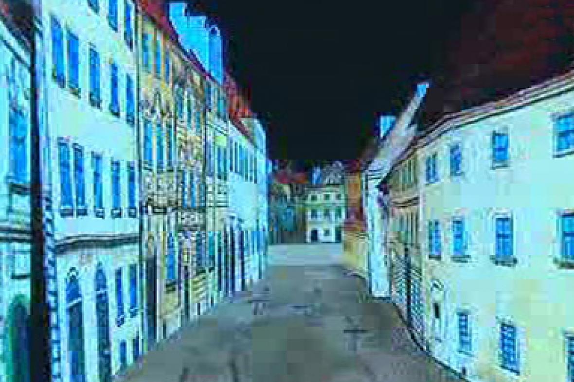 Digitalizovaný Langweilův model Prahy