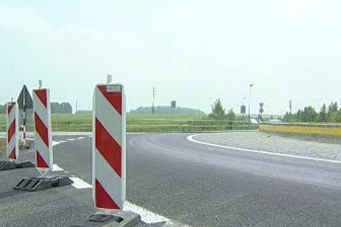 Výstavba silnice