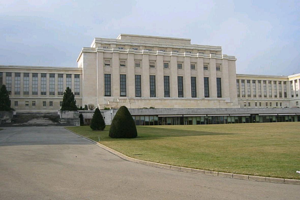 Palác národů v Ženevě